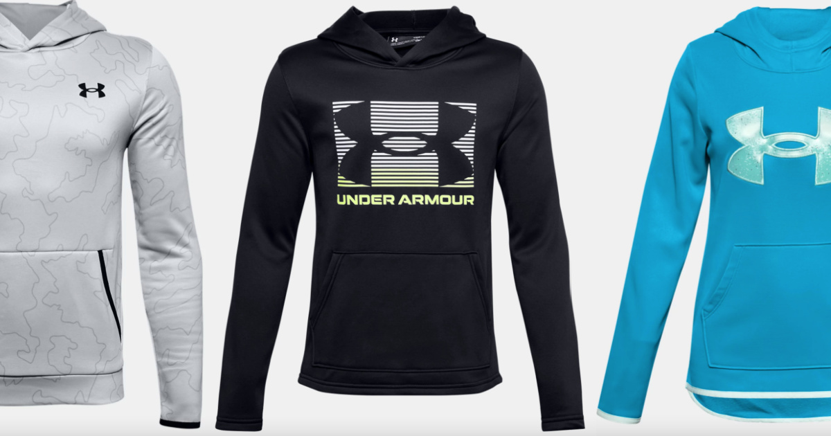 Under Armour Kids Hoodies from $17.99 Shipped (Regularly $40) + More Back to School Deals