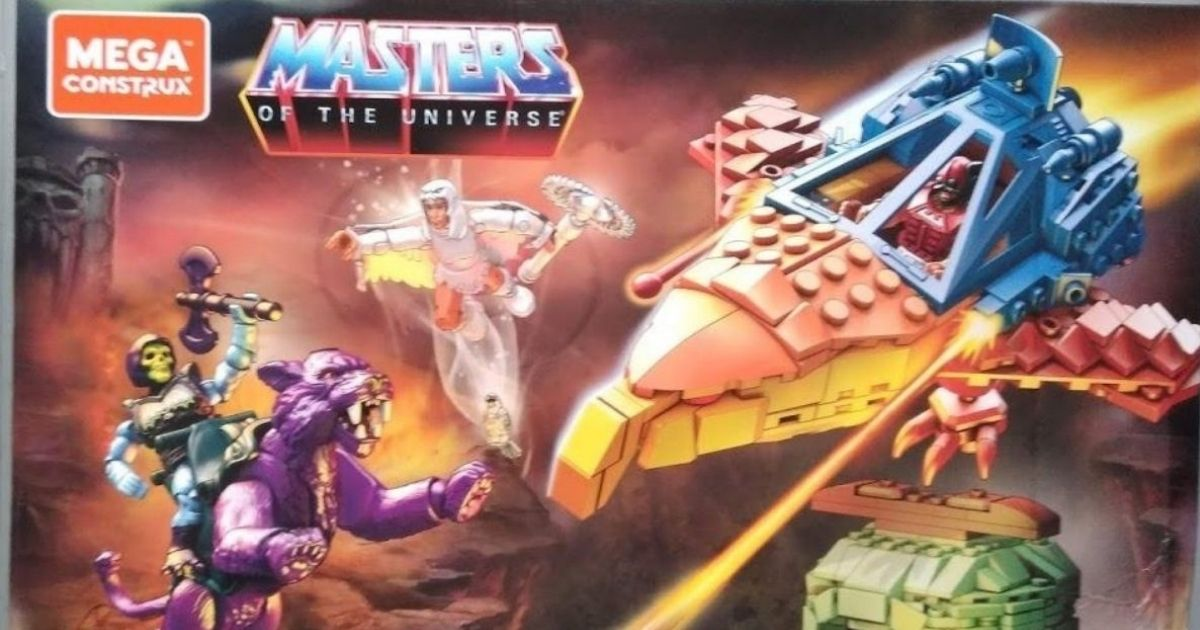 Mega Construx Masters of The Universe Set Only $25.38 Shipped on Amazon (Regularly $50)