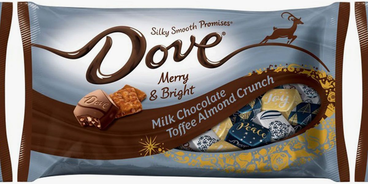 Dove Chocolate Unveiled Its Holiday Flavor, So We Hope You Like Toffee