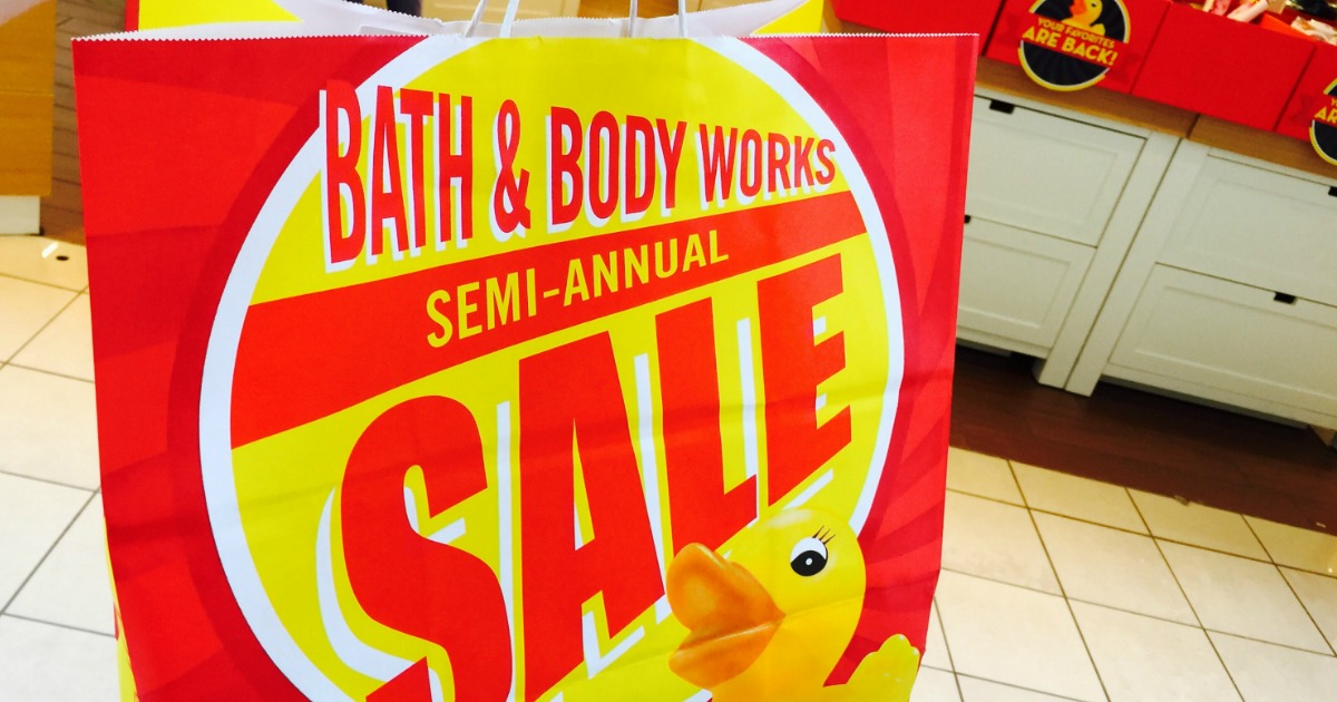 Get 75% Off During Bath & Body Works Semi-Annual Sale