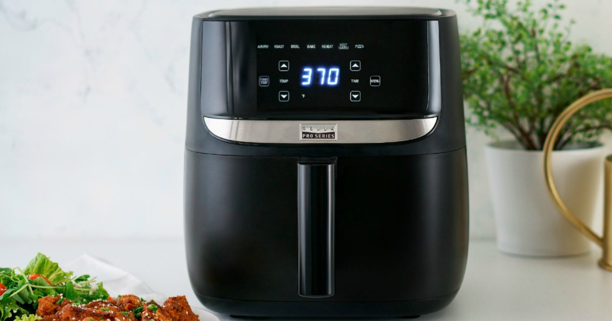 Bella Family-Size Touchscreen Air Fryer Only $49.99 Shipped on BestBuy.com (Regularly $100)
