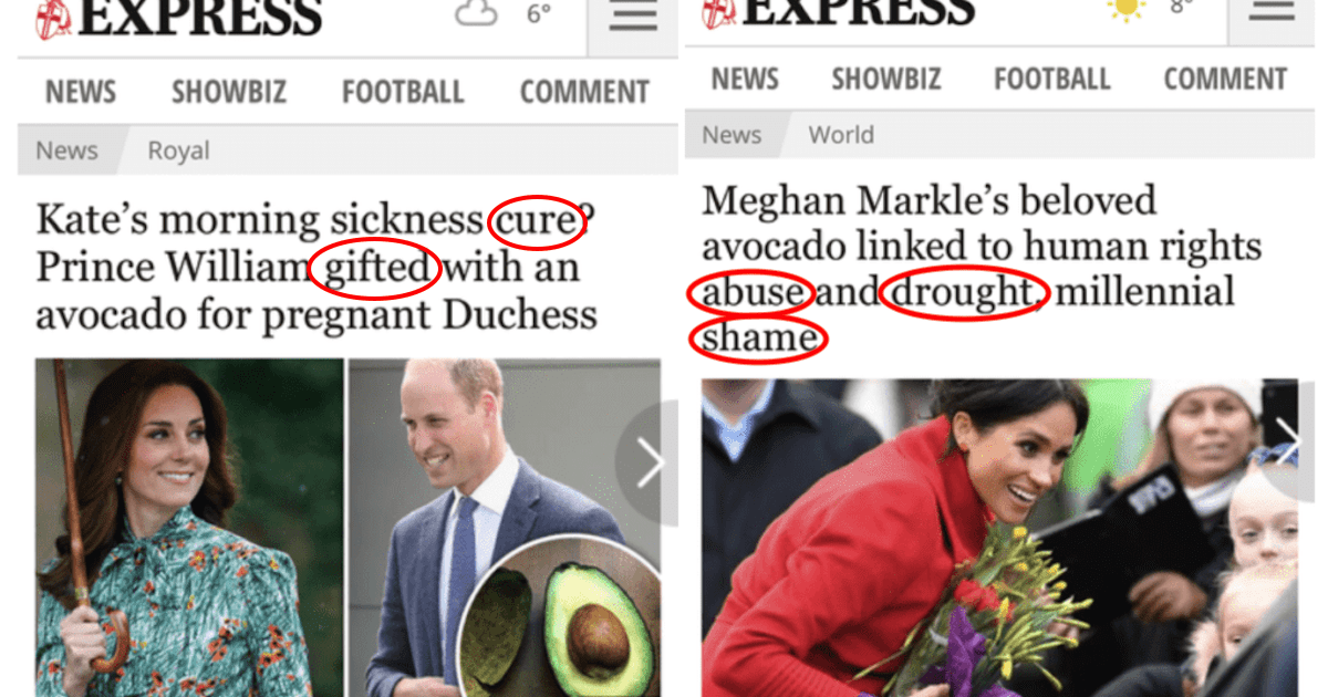 Headlines Show How Differently the British Press Treats Meghan vs. Kate