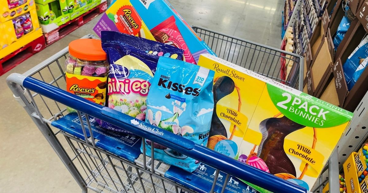 New Sam's Club Instant Savings on Easter Candy