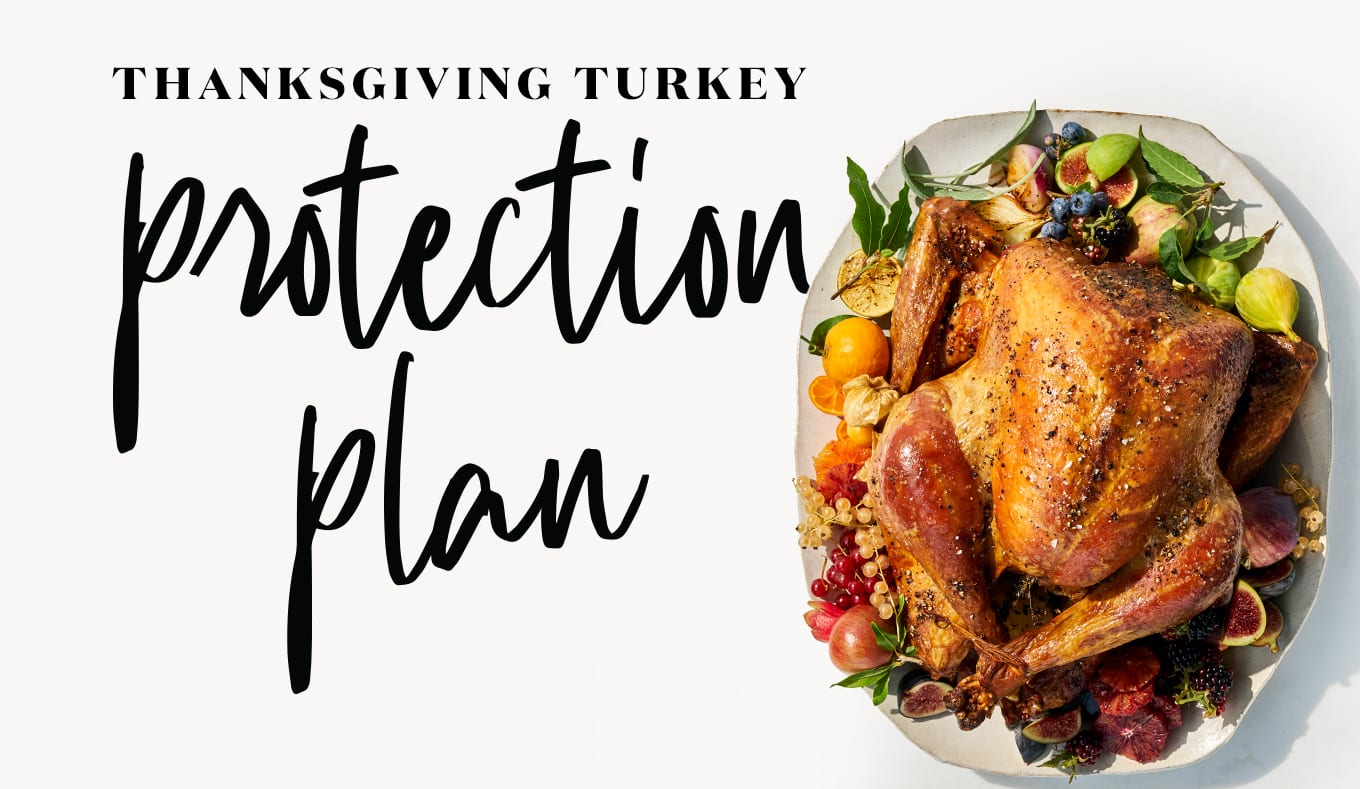 """Whole Foods Market Introduces the Thanksgiving Turkey Protection Plan to """"Insure"""" America's Most Anticipated Meal"""