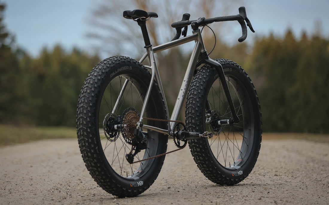 The Drop Bar Fat Bike Raises the Question: What're You Looking At?