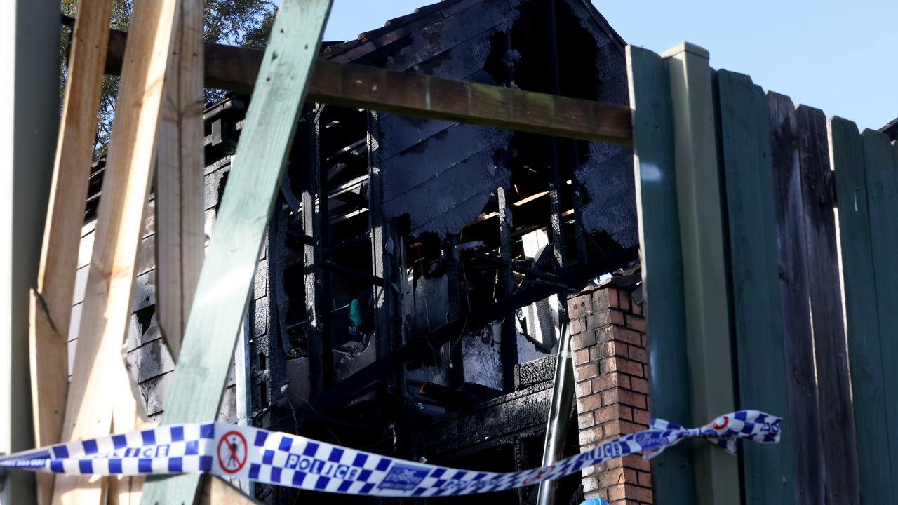 'Screams for help': Teenage boy's body found after house fire in Macquarie Fields