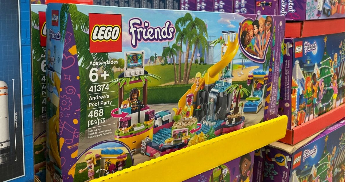 LEGO Friends Pool Party Building Set Only $33.97 Shipped on Amazon (Regularly $50)