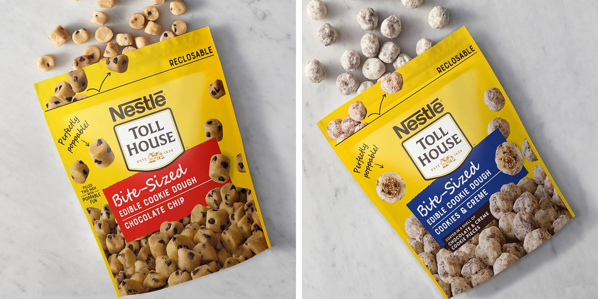 Nestlé Toll House's New Cookie Dough Bites Will Have You Eating Them By The Handful