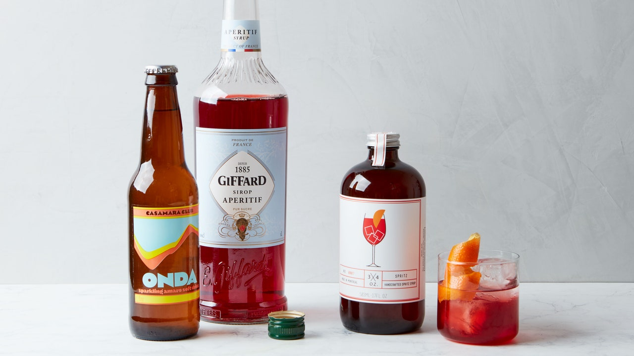 The Best Bottles for Your Nonalcoholic Bar If You Love Bitter Drinks and Aperitivi
