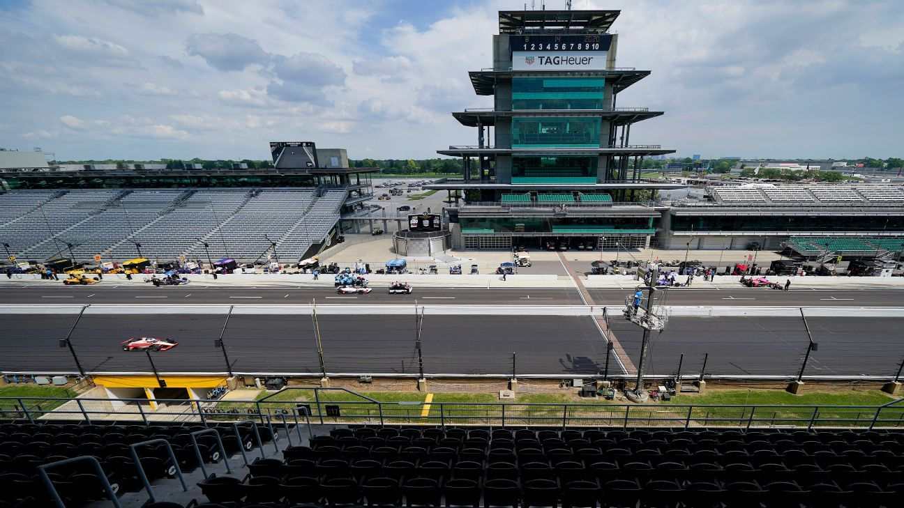 Trio of former Indianapolis 500 winners slow youth movement as practice opens