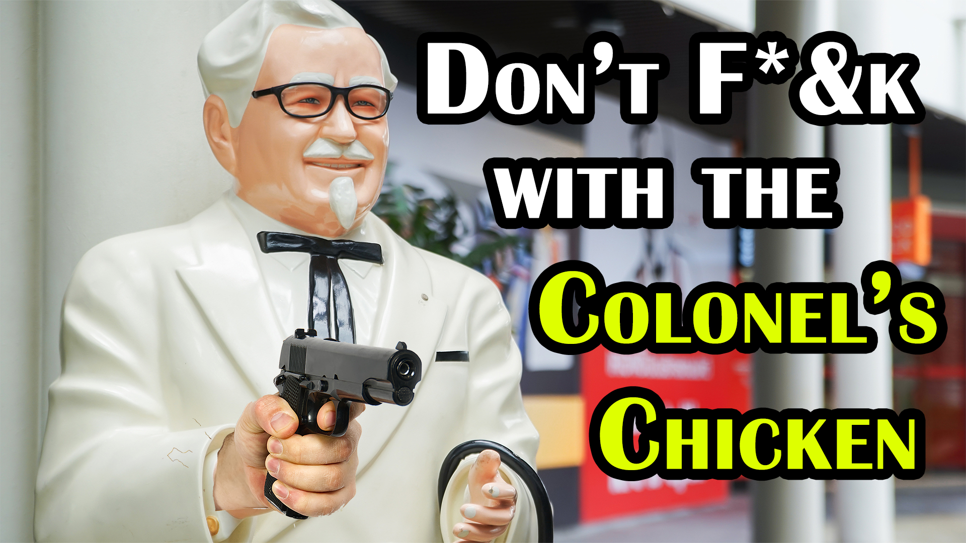 That Time Colonel Sanders Tried to Kill the Competition by Literally Trying to Murder the Manager of the Competition