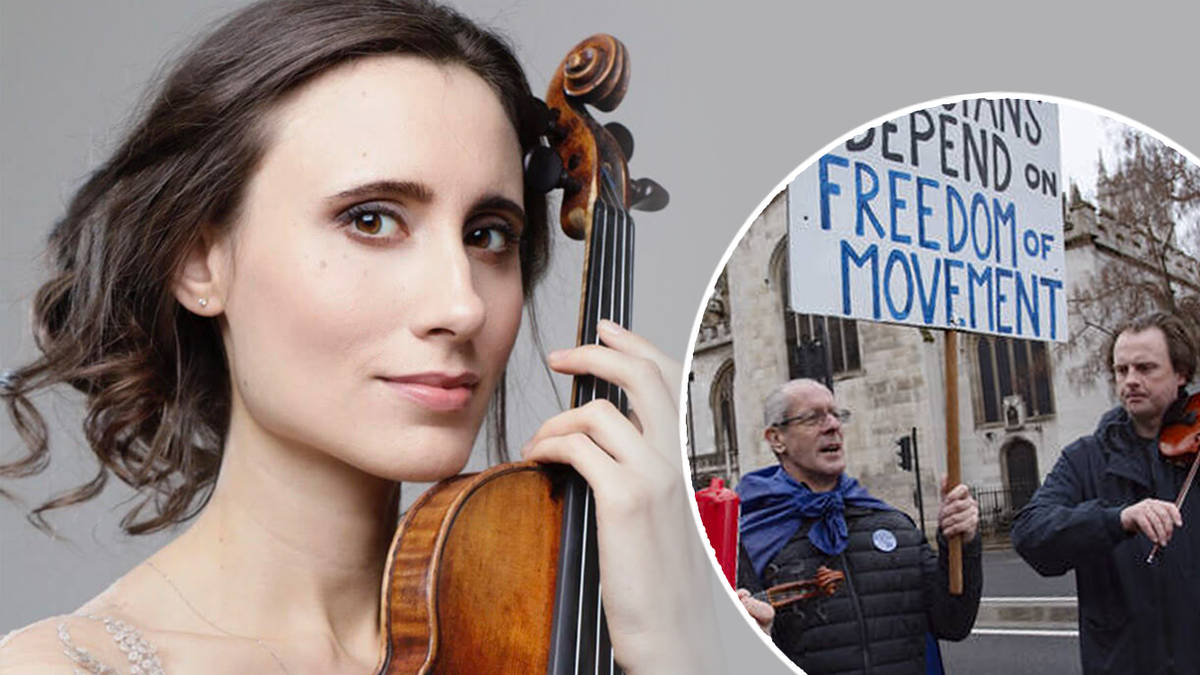 Violinist Jennifer Pike: 'Limited freedom of movement is disastrous for the arts'