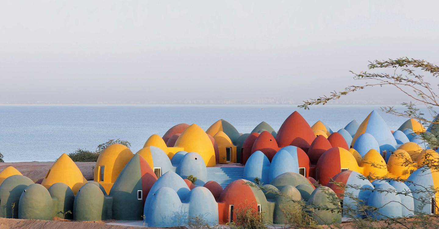 The Majara Residence: the most colourful village in the Persian Gulf