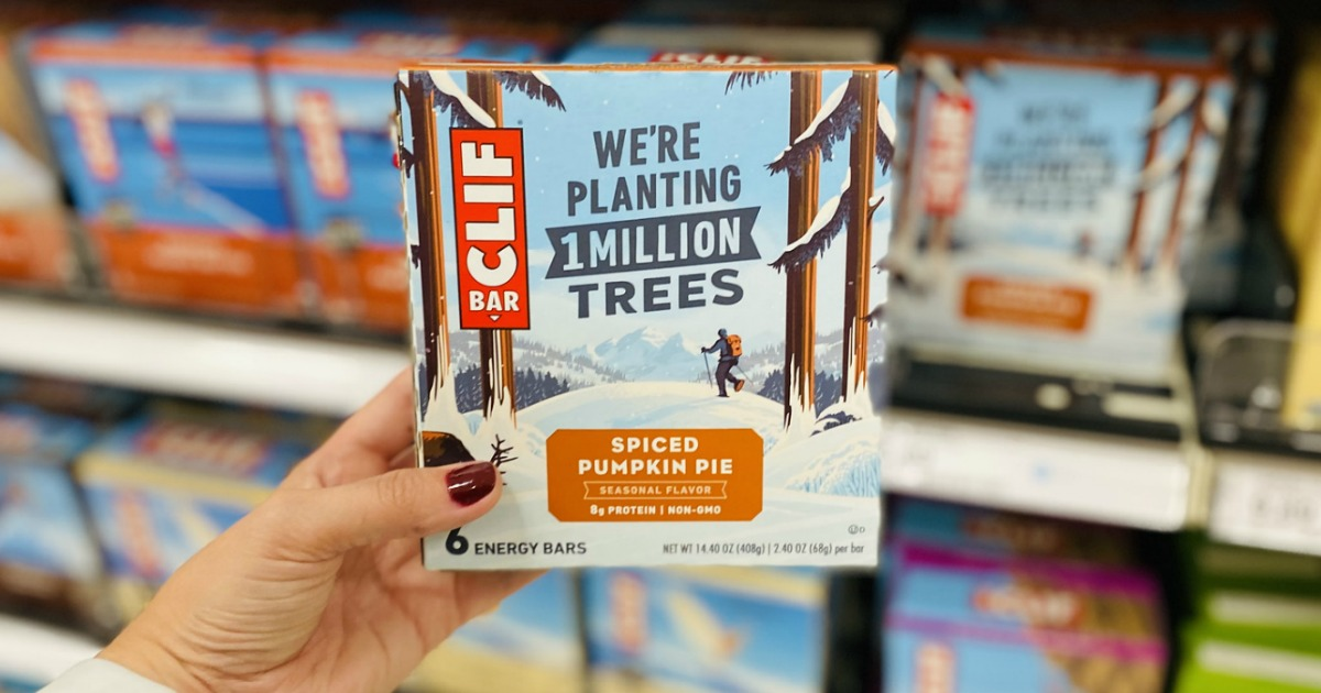 CLIF Bar Seasonal Flavors 6-Count Boxes from $3.14 Each on Target.com w/ Free Store Pick-Up (Regularly $6)
