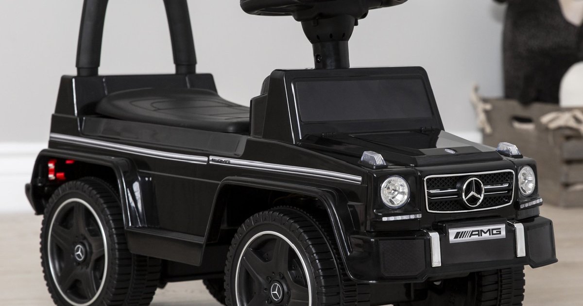 Kids Mercedes Ride On Car Just $39.99 Shipped (Regularly $80)