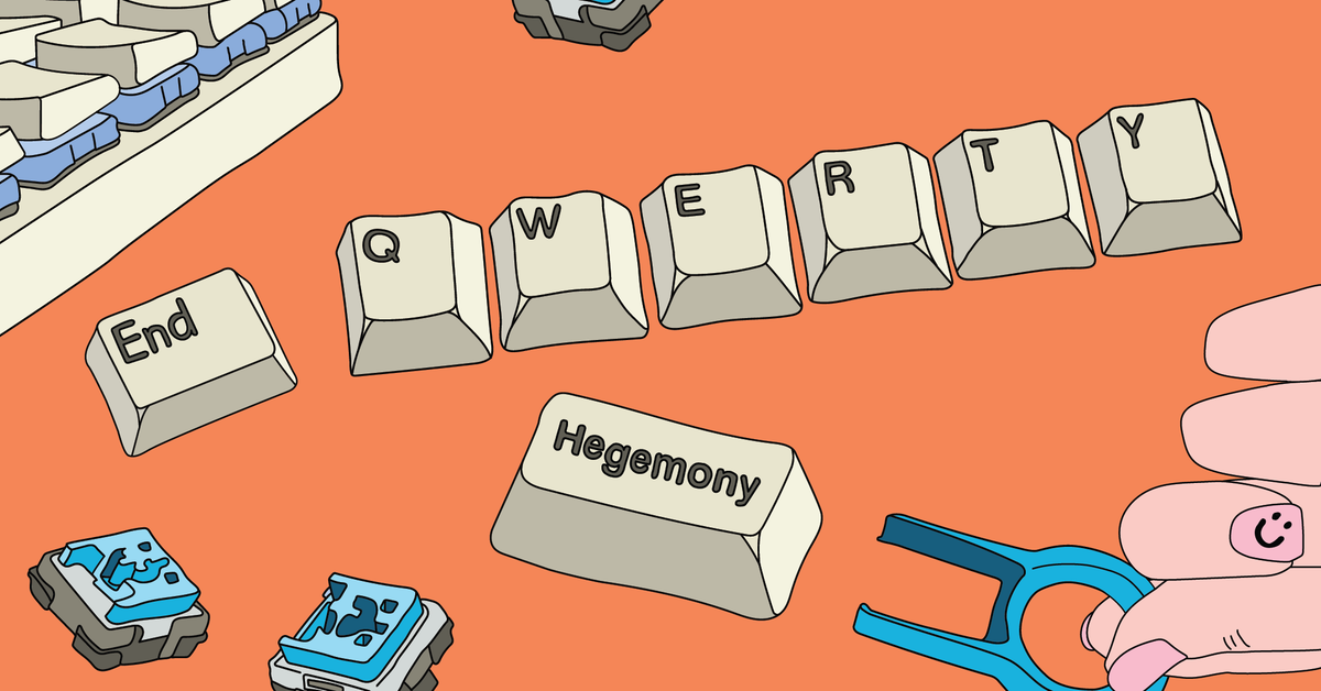 A One-Handed Writer's Search for the Perfect Mechanical Keyboard