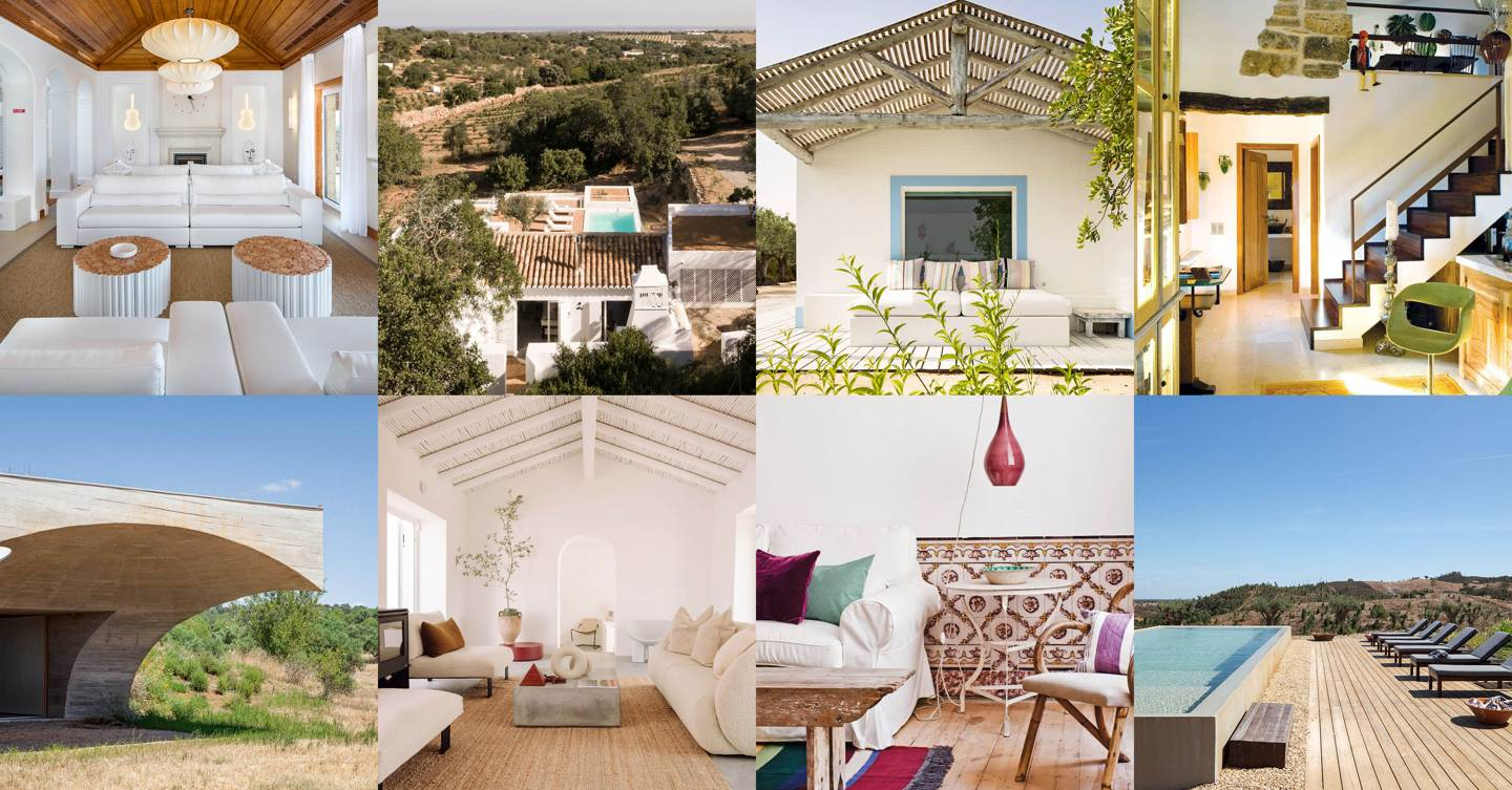 The best houses and villas to rent in Portugal