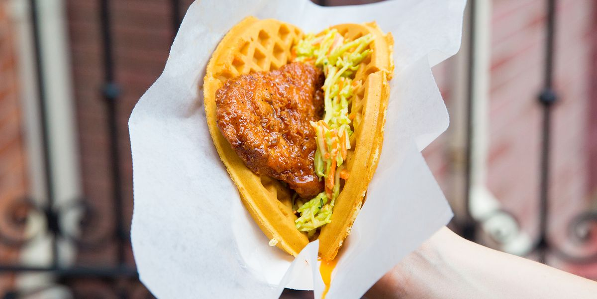 Sweet & Spicy Chicken and Waffle