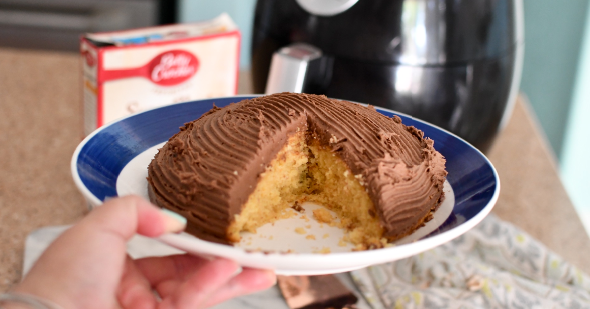 You Can Totally Make Air Fryer Cake! Who Knew?!