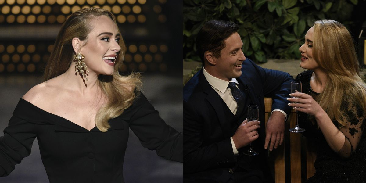 Adele Performed Her Hit Songs And Couldn't Stop Laughing On SNL