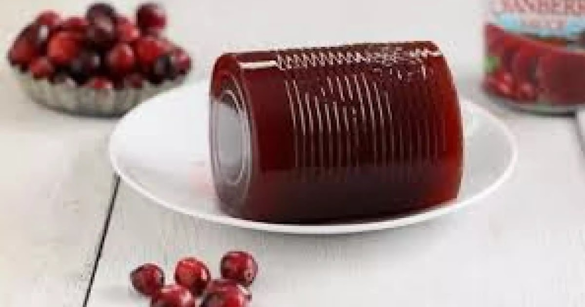 Ocean Spray Cranberry Sauce Recipe On Bag / Jellied Cranberry Sauce Canned Or Refrigerated