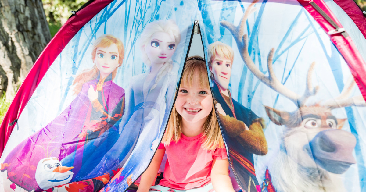 Disney Frozen 2 Dome Tent Only $14 on Walmart.com (Regularly $25)