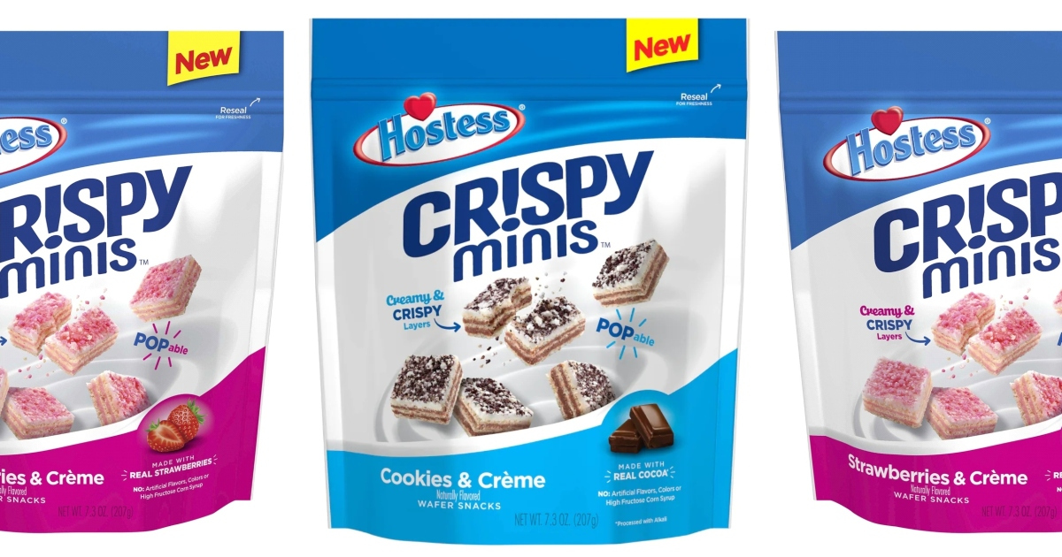 Hostess is Releasing Bite-Sized Crispy Minis to Satisfy Your Sweet Tooth