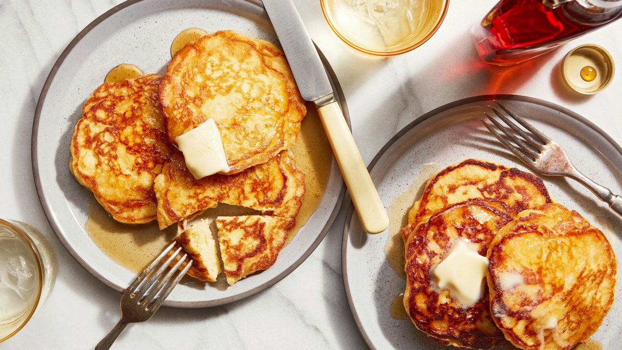 From Now on, My Pancakes Will Be Masa Pancakes