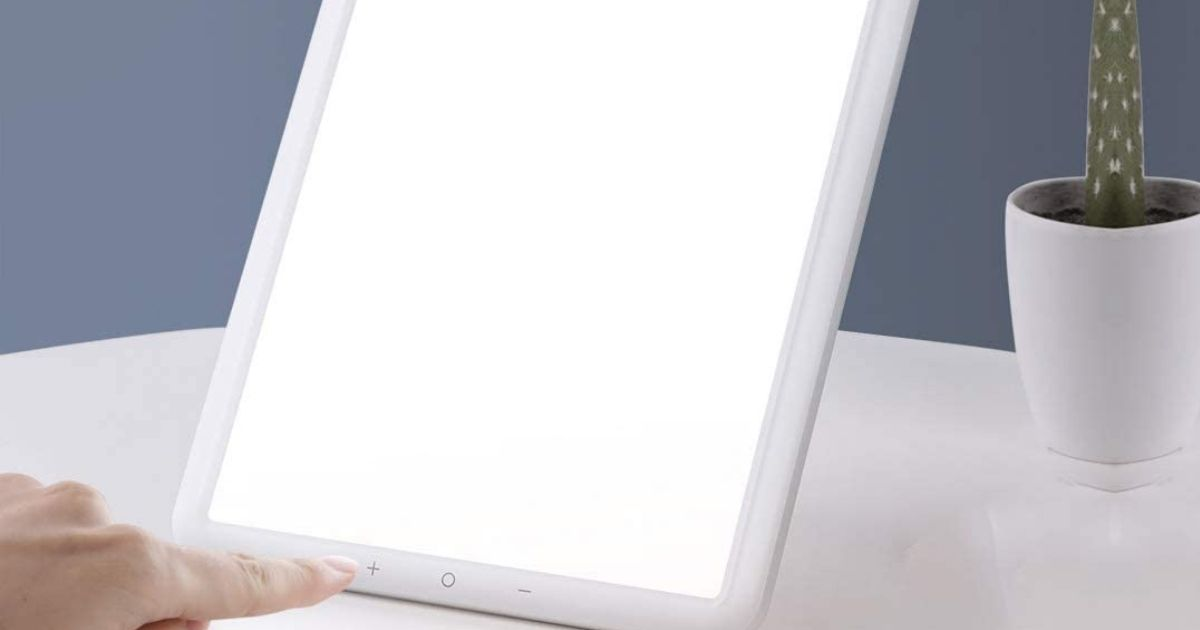 Light Therapy Lamp Only $20.99 Shipped on Amazon