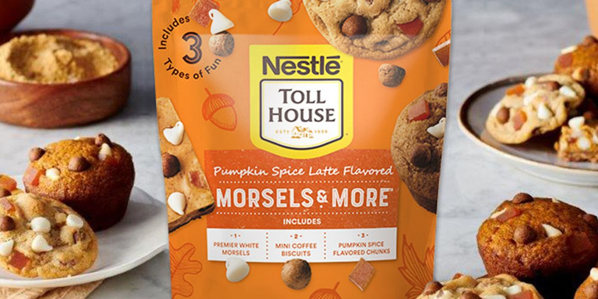 You Can Add Nestlé Toll House's Pumpkin Spice Latte Morsels To Any Cookie Batter For A Fall Bite