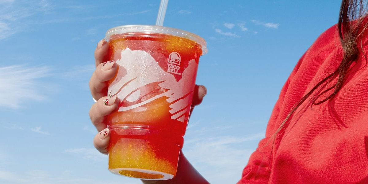 Taco Bell Now Has A Wild Strawberry Lemonade Freeze Drink