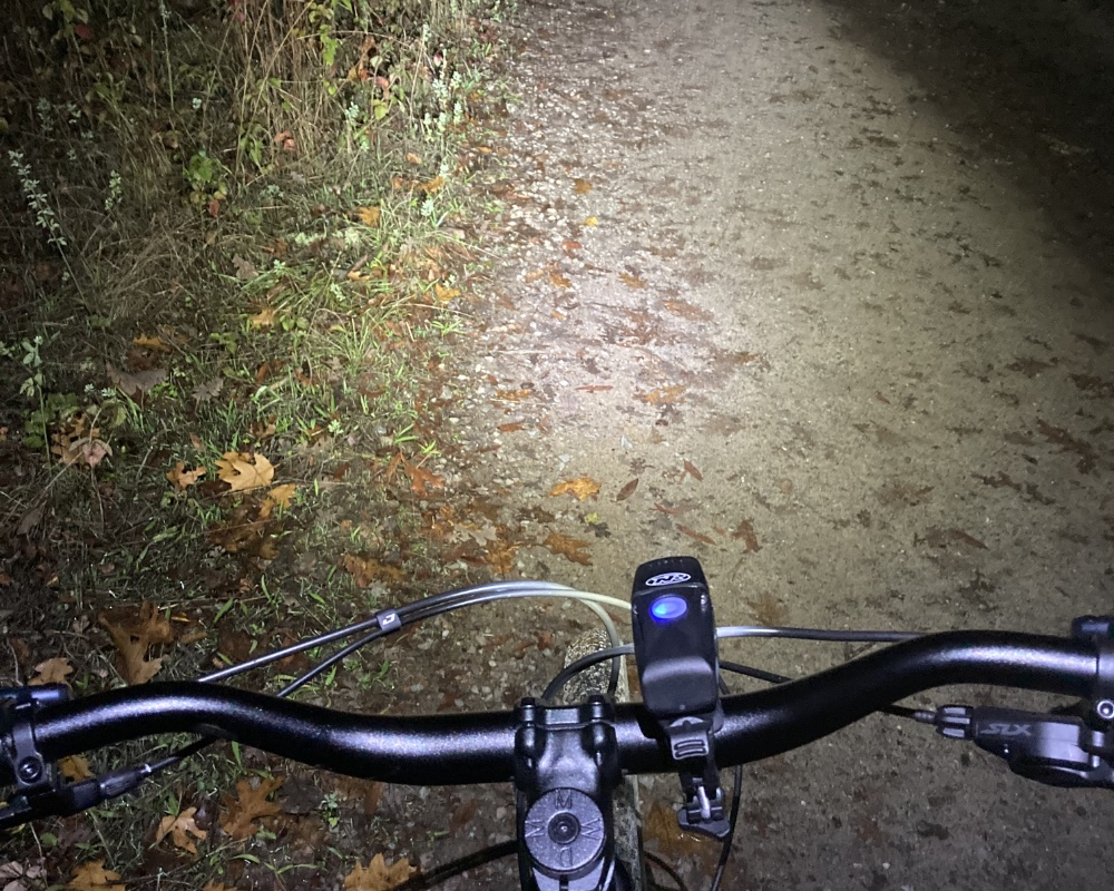 How Many Lumens Are Enough For Night Riding? 'Cause We Love This Micro 900