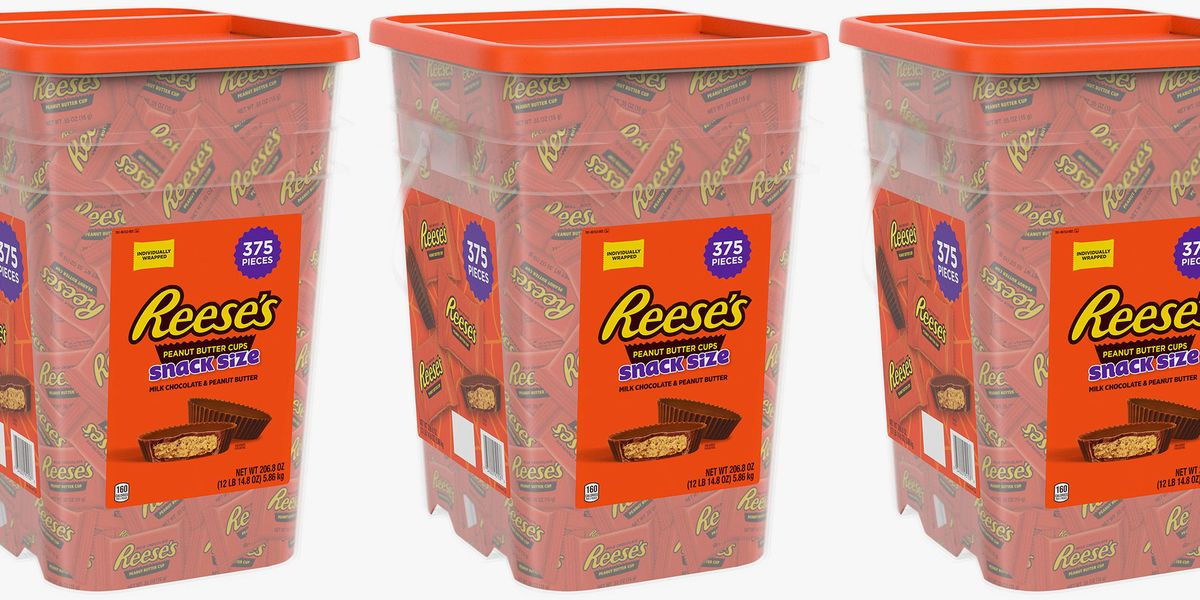 Sam's Club Is Selling a Giant Container Filled With 375 Reese's Cups for Halloween