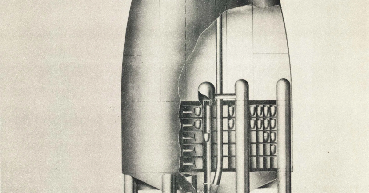 Physicists' Early Dreams of Nuclear Powered Spaceflight