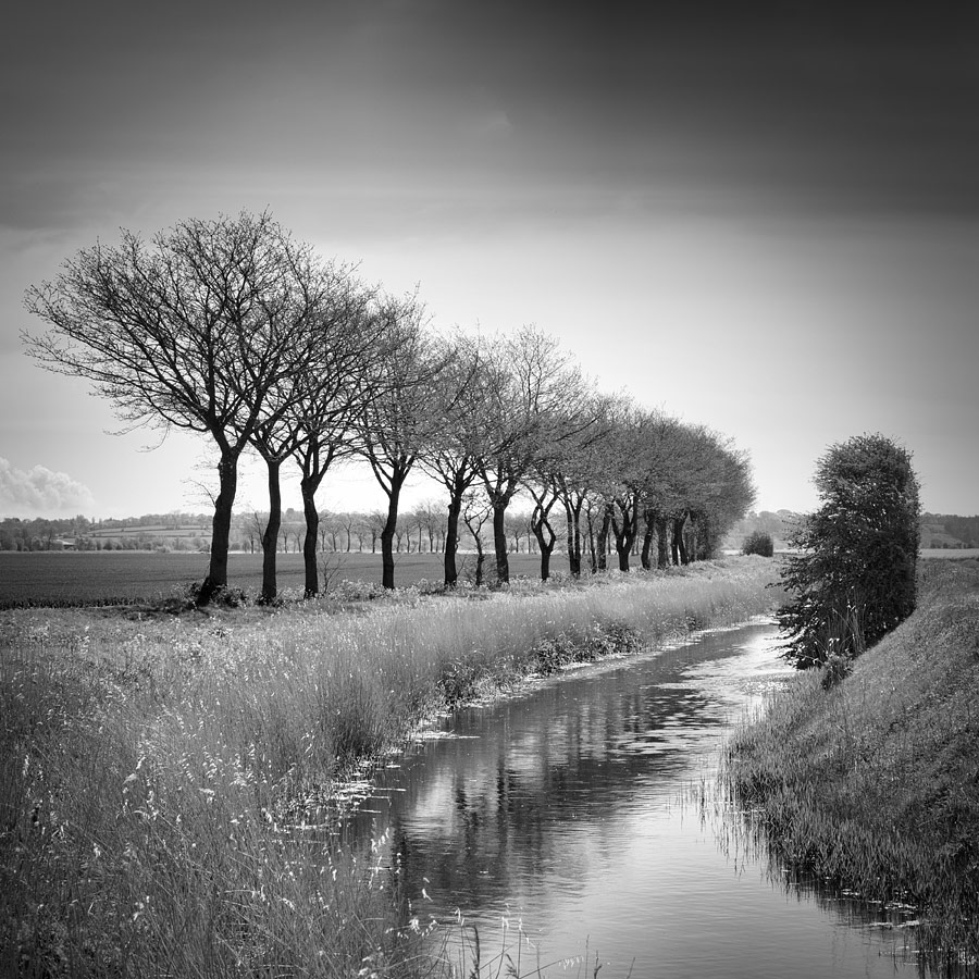 A Very Military Canal, Romney Marsh, Kent, England