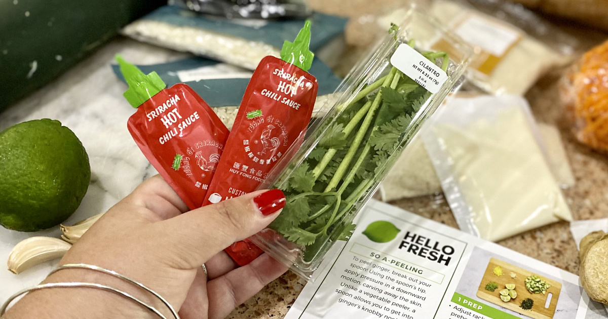 Score 14 Free Meals Shipped from Hello Fresh