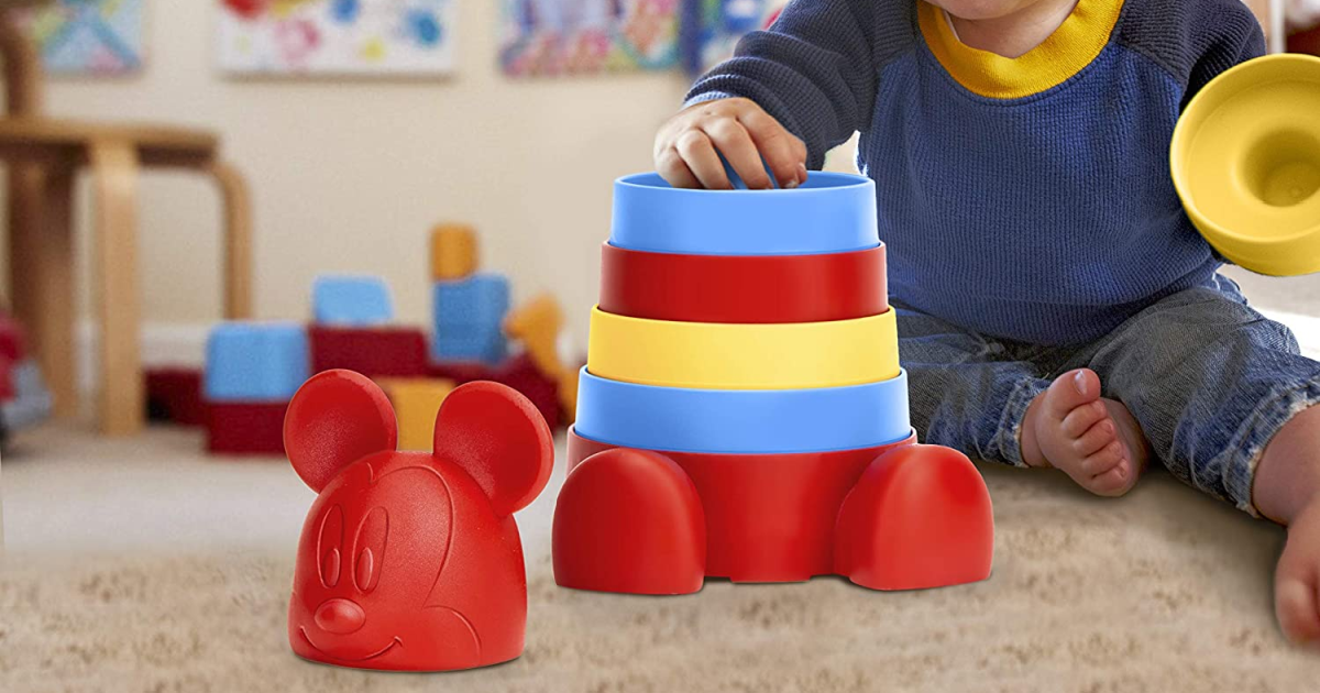 Disney Baby Green Toys Stacker Only $10.49 on Amazon