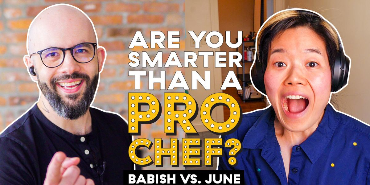 We Challenged Binging With Babish's Andrew Rea To The Ultimate Cooking Trivia Quiz