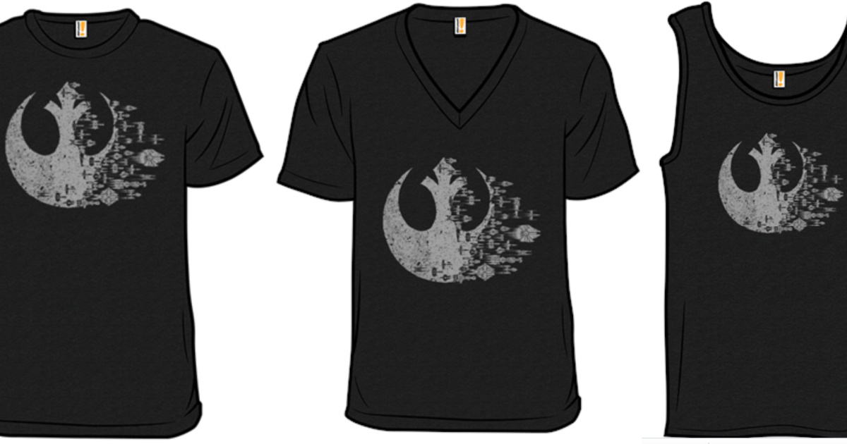 TWO Star Wars Graphic Tees from $16.98 Shipped for Amazon Prime Members