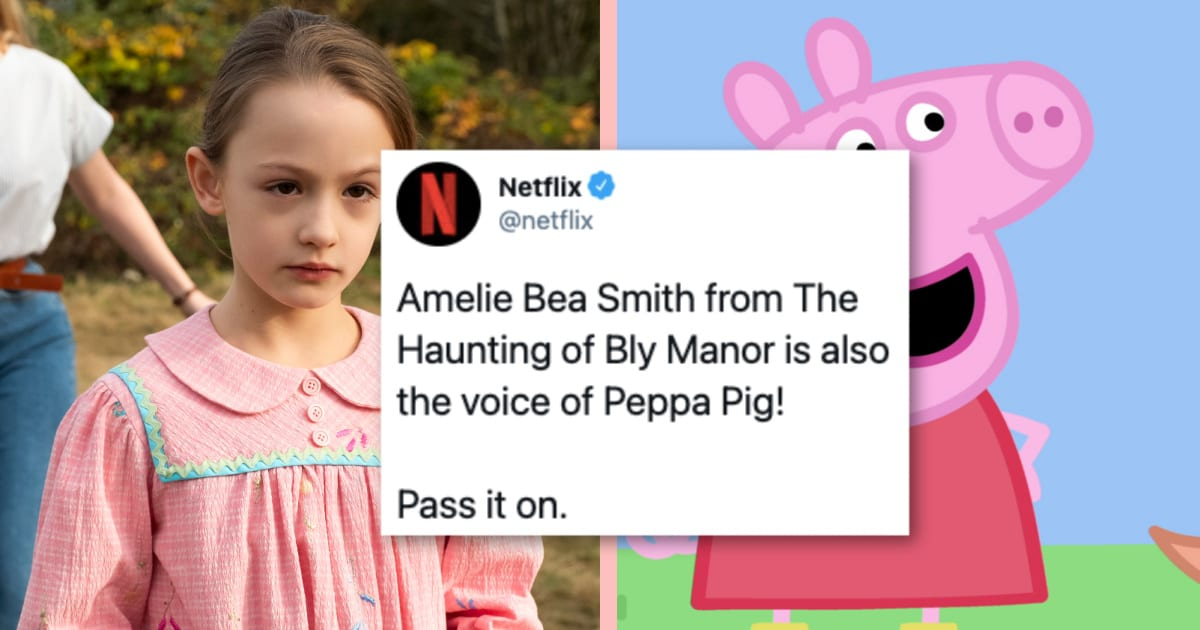 """The Voice Of Peppa Pig Is One of the Stars of """"The Haunting Of Bly Manor,"""" and People Are Losing It"""