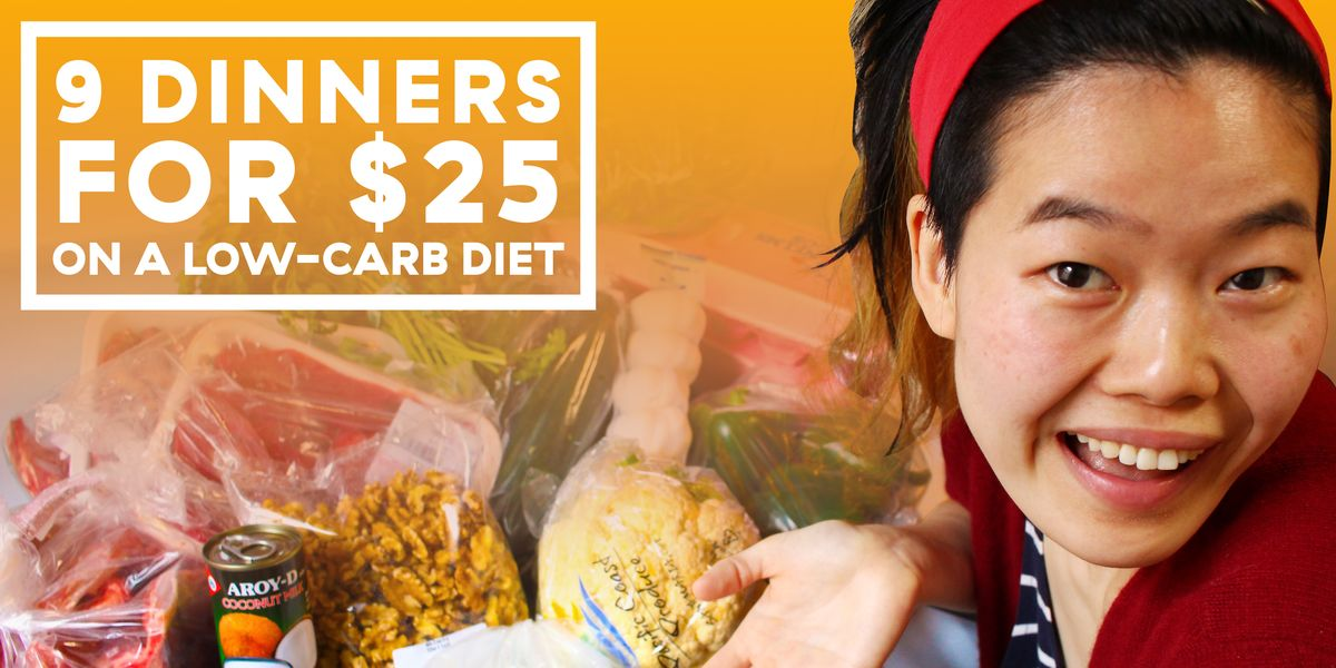 How To Eat 9 Low-Carb Meals For Less Than $25 — Low-Carb On A Budget
