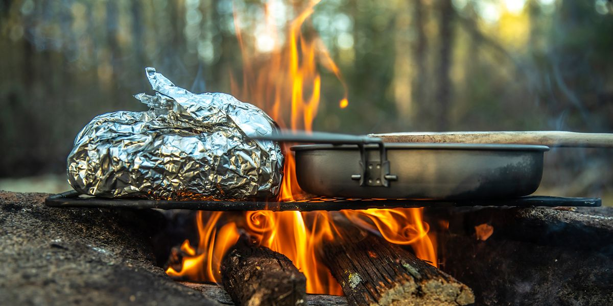 How To Build A Cooking Fire