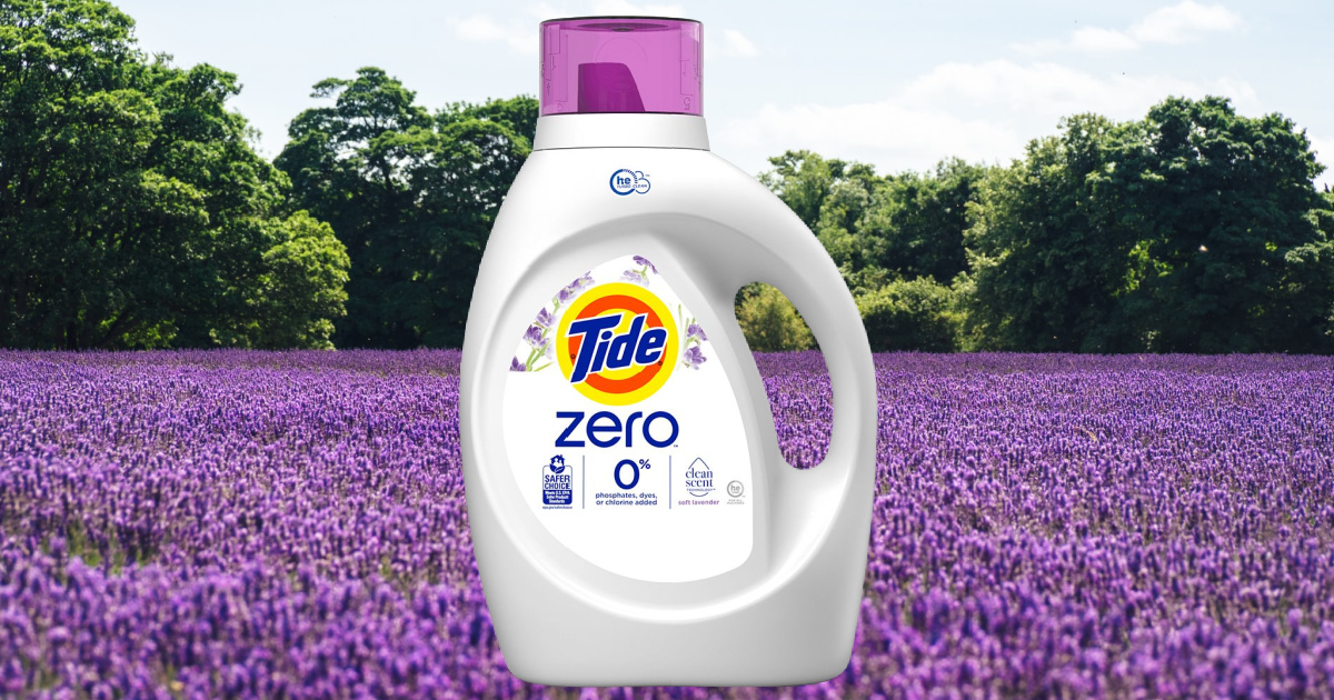 3 Tide Zero Laundry Detergents Just $23 After Target Gift Card