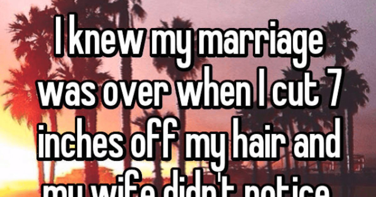 10 Crystal Clear Moments When People Knew the Marriage Was Over