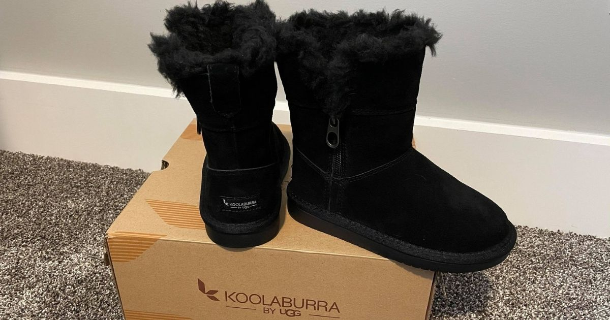 Koolaburra by UGG Toddler Girls Winter Boots Only $14.99 Shipped for Select Kohl's Cardholders (Regularly $60)