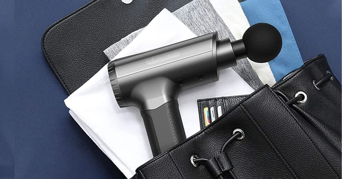 Portable Massage Gun Only $69.99 Shipped on Amazon