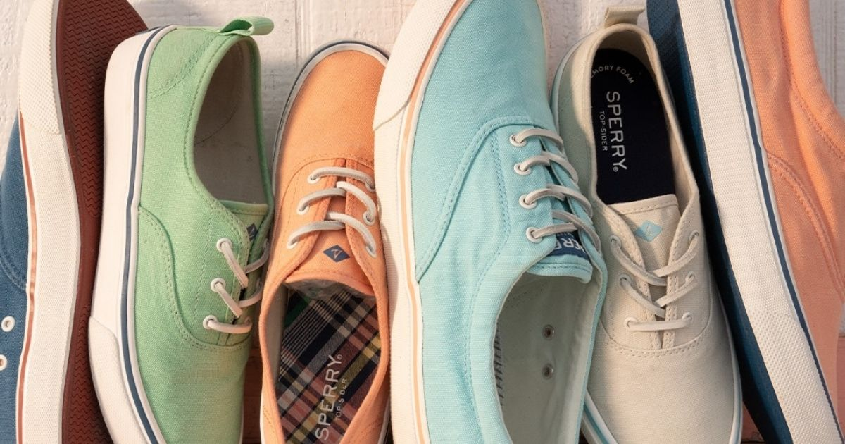 Sperry Men's & Women's Sneakers Only $29.99 Shipped (Regularly up to $75)