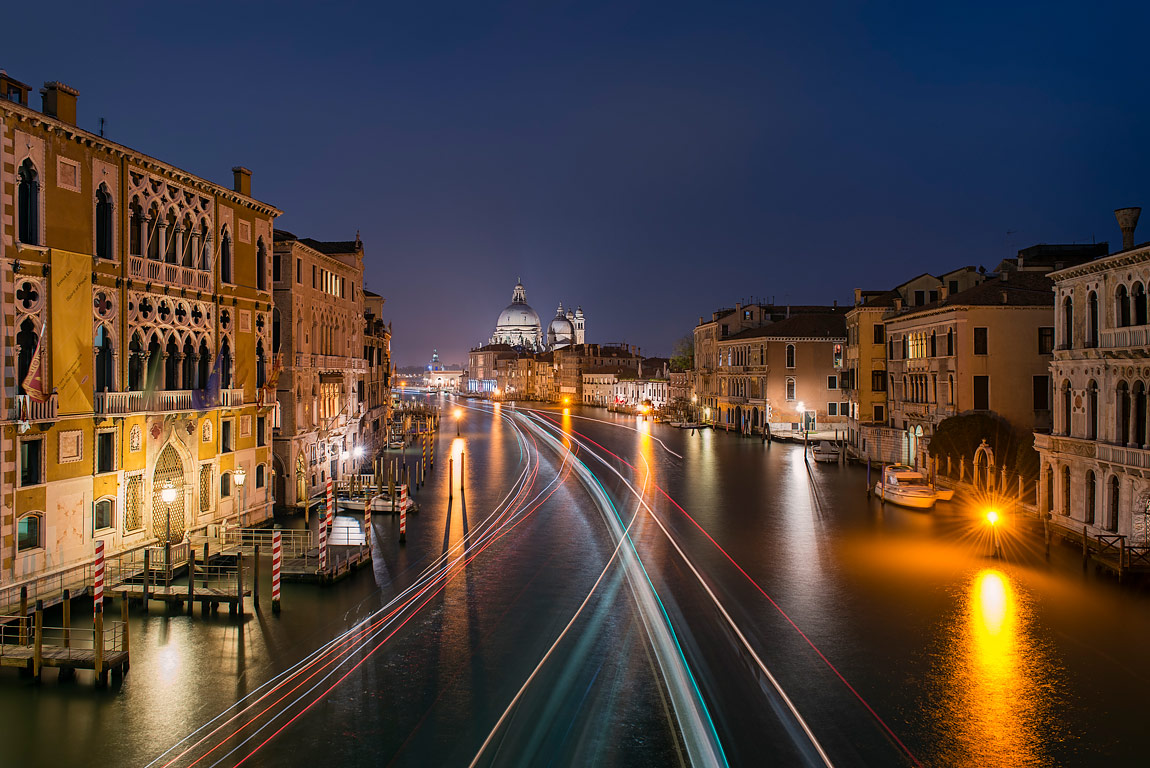 Passage on the Grand Canal, Venice, Italy