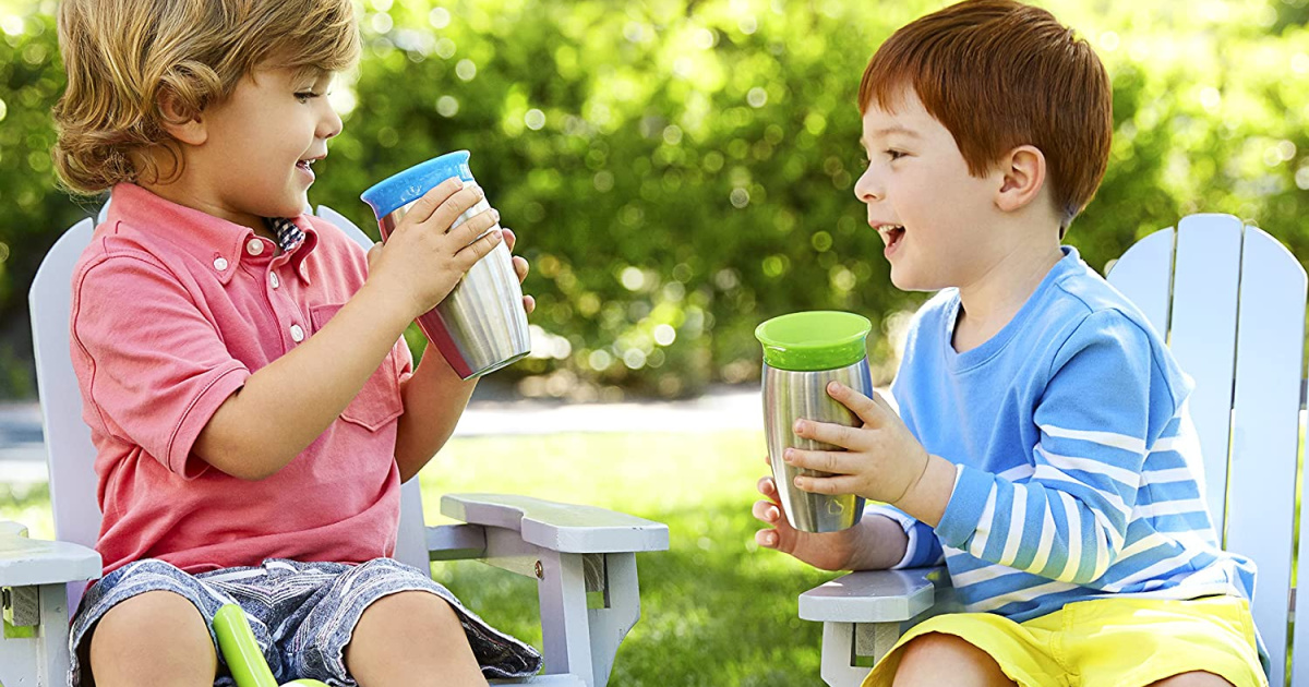 Munchkin Stainless Steel Sippy Cup Only $5 on Amazon (Regularly $15)