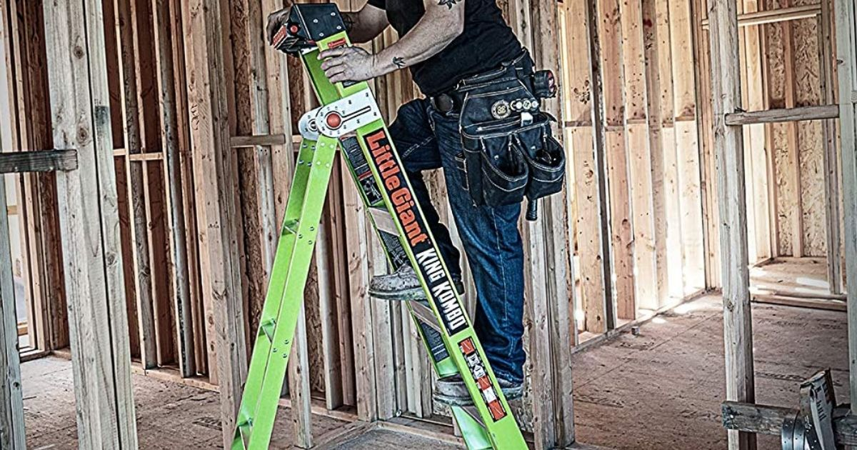 Little Giant 6' Extension Ladder Only $135 Shipped on Amazon